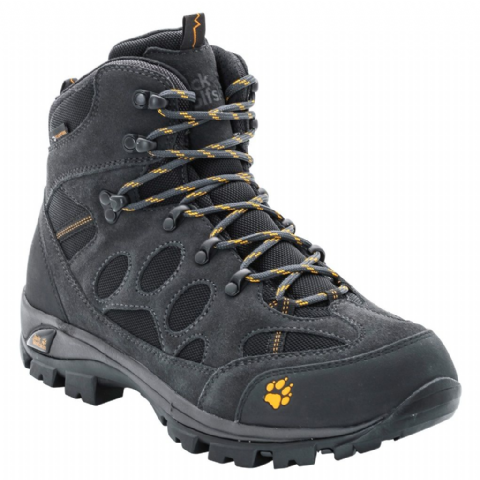 Jack Wolfskin Mens All Terrain 7 Texapore Boot  / Waterproof - Phantom- Size 12 Only